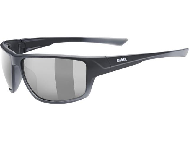 UVEX Sportstyle 230 Glasses black matt/litemirror smoke